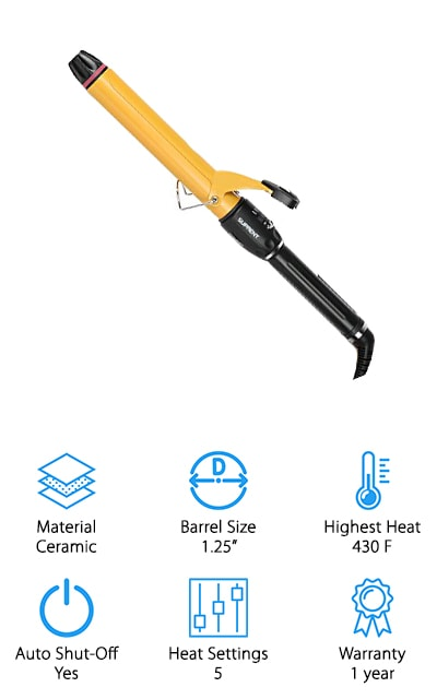 SURPENT Hair Curling Iron