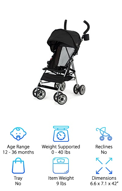 Kolcraft Travel Umbrella Stroller