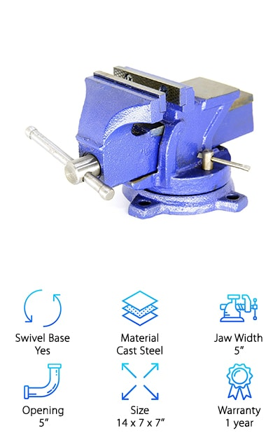 HFS Heavy Duty Bench Vise