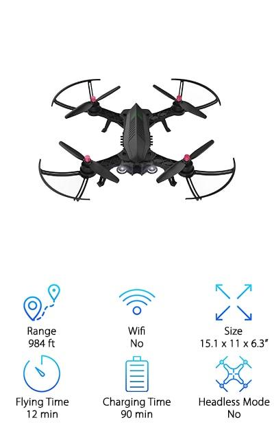 DROCON Bugs 6 Racing Drone