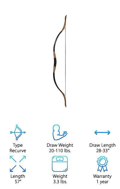 Longbowmaker Handmade Recurve Bow