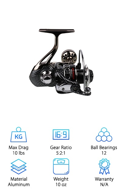 Sougayilang Metal Fishing Reel