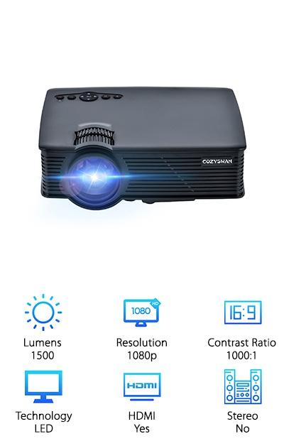 Cozyswan Outdoor Projector