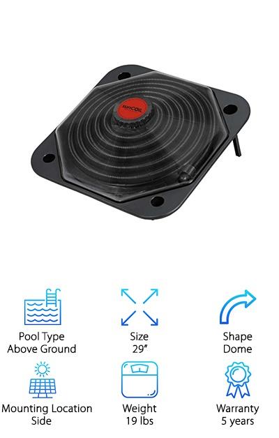 SunCoil Dome Solar Heater