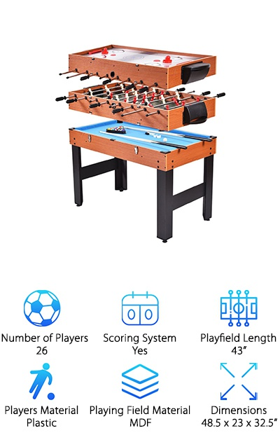 Giantex 3-in-1 Game Table
