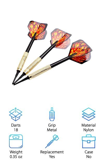 MAXMAU Soft Tip Darts