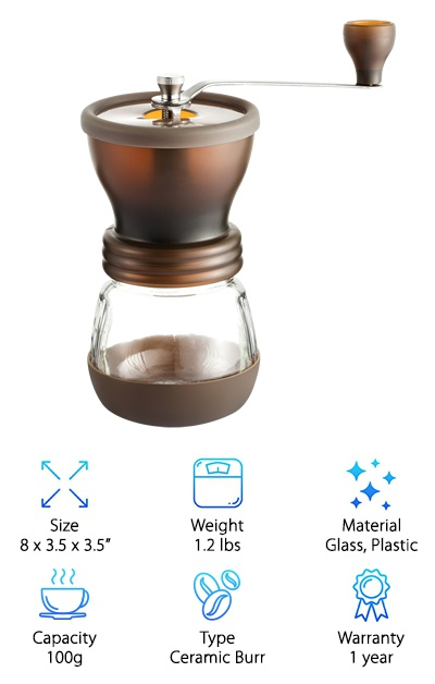 Coolife Coffee Grinder