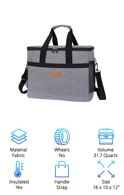 Lifewit Soft Cooler for Beach