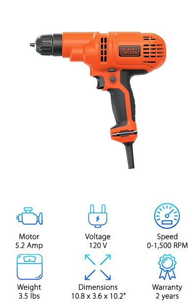 Black & Decker DR260C