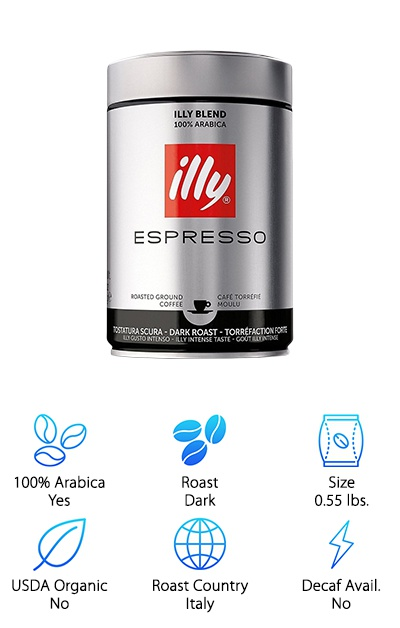 illy Dark Roast Coffee