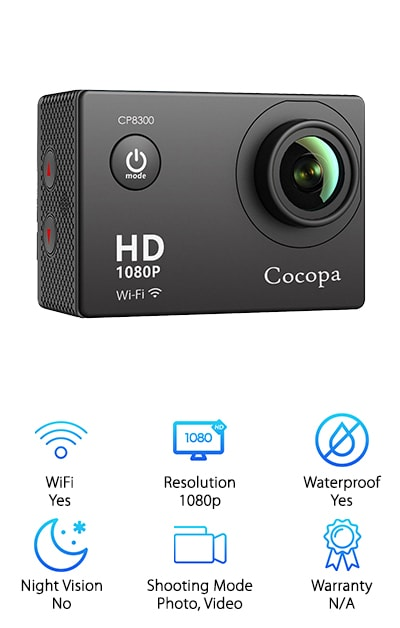 Cocopa Action Camera