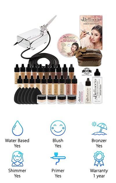 Belloccio Airbrush Makeup Kit