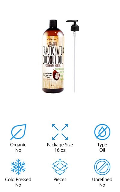 Molivera Organics Coconut Oil