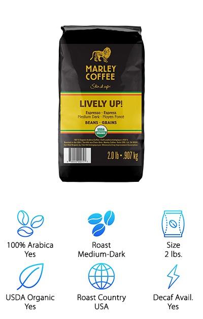 Marley Coffee Organic Espresso