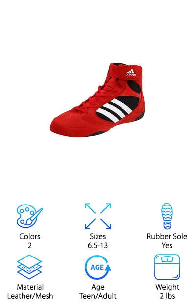 These are some of the top rated wrestling shoes on our list. This makes them the perfect choice for any wrestler. They are made of leather and textile materials that help to provide you with superior performance throughout your time as a wrestler. They come in two colors- red and blue. This makes them a perfect fit for any stylish wrestler. They have a rubber sole that helps them grip to the mat every time. These shoes come with a leather and mesh upper for breathability and comfort. This makes them a perfect choice for anyone who wants something that is breathable and wearable. They also come with a rubber outsole. This outsole is designed to provide maximum grip on the mat. This also provides long-term durability. These shoes are suitable for all levels from high school wrestling to collegiate tournaments. These shoes are a great choice for anyone who wants to use these as beginner wrestling shoes that can take them through their whole lives.