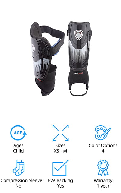 DashSport Shin Guards