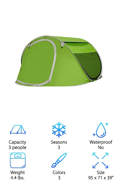 G4Free Automatic Pop Up Tent