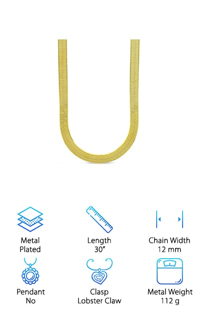 Bling Culture Herringbone Chain