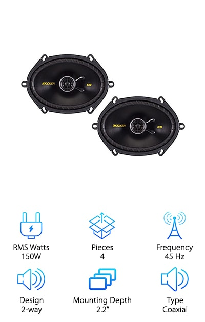 Enrock Kicker Car Speaker