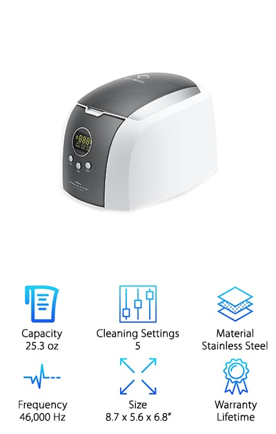Life Basis Ultrasonic Cleaner