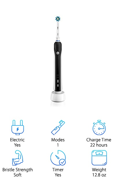 Oral-B Black Electric Toothbrush