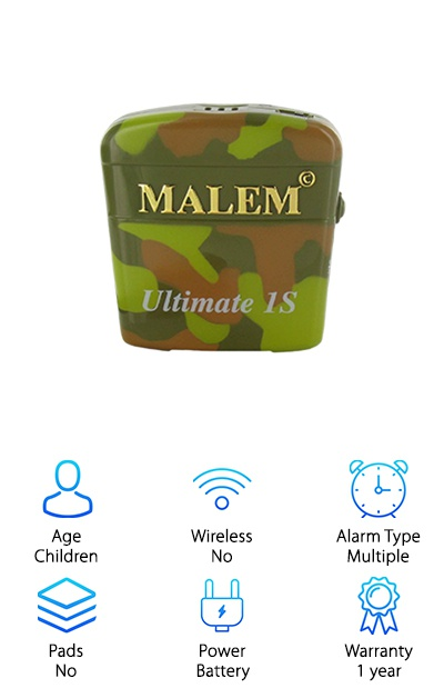 Malem Selectable Bedwetting Alarm