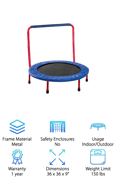 Portable & Foldable Trampoline