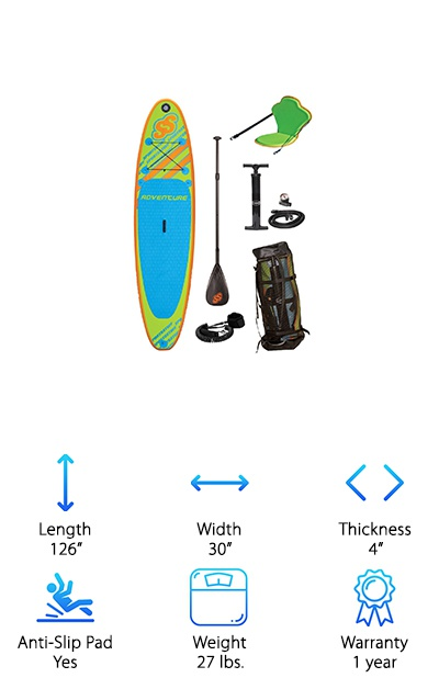 Sportstuff 1030 Adventure Paddleboard