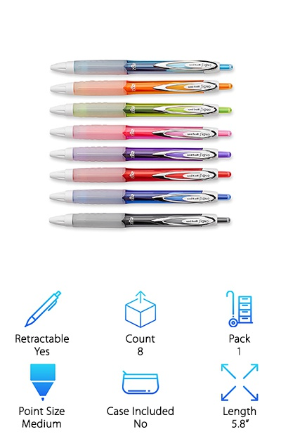 Uni-ball Retractable Gel Pens