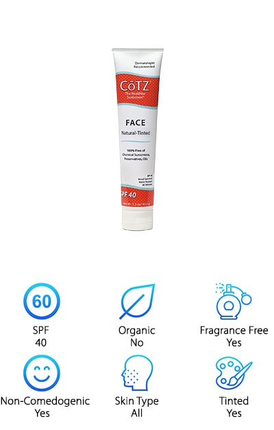 Cotz Face Natural Sunscreen