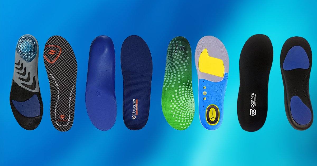 058bc3ee72 10 Best Insoles for Flat Feet 2019 [Buying Guide] – Geekwrapped