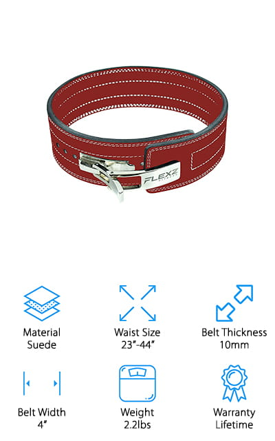 FlexzFitness Powerlifting Belt