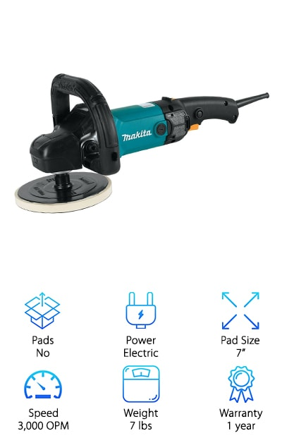 Makita 9237CX3  Polisher
