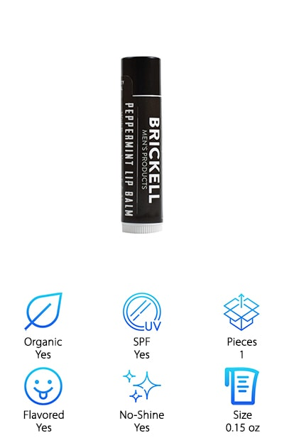 Brickell Men's Lip Balm
