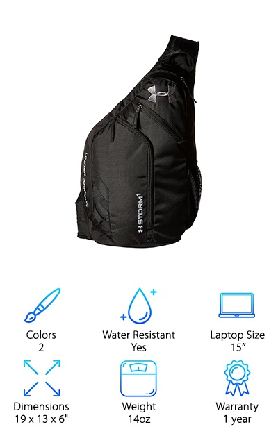 c4113cce5c8d Under Armour Sling 2.0. Best Sling Backpacks