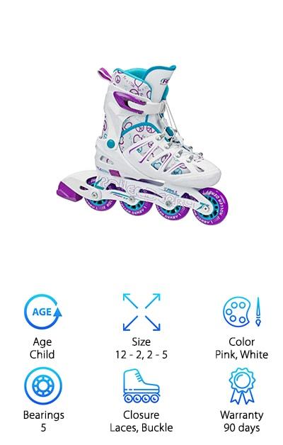 Roller Derby Girl's Stinger Skates
