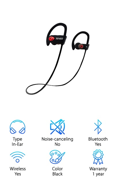SENSO Sports Earphones
