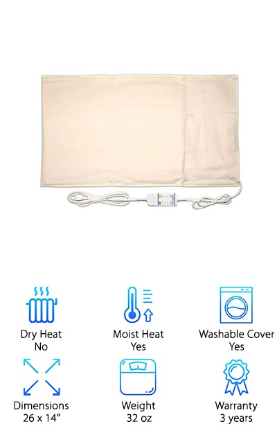 Thermotech Automatic Heating Pad
