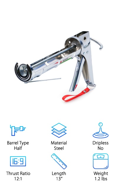 Tarvol 3 in 1 Caulking Gun