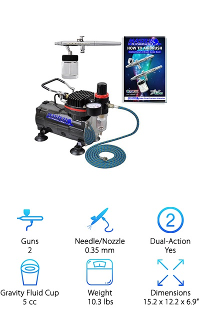 Master Airbrush Dual-Action Kit