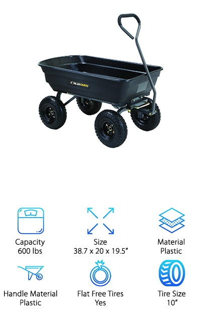 Gorilla Carts Dump Cart