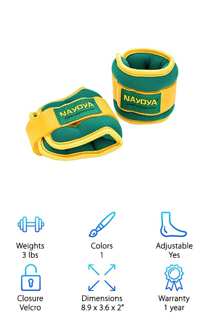 Nayoya Wellness Ankle Weights