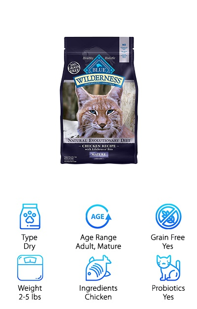 Blue Wilderness Mature Cat Food