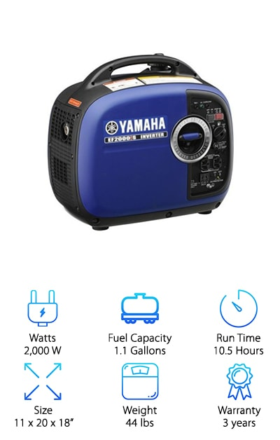 Yamaha EF2000iSv2 Inverter