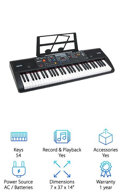 Plixio Electric Music Keyboard