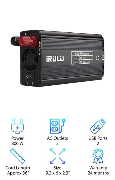 iRULU Microprocessor Inverter