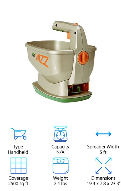 Scotts Wizz Hand-Held Spreader