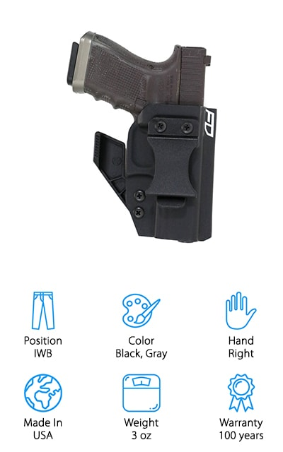Fierce Defender Kydex Holster