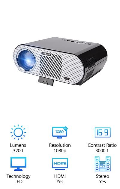 Ohderii Outdoor Projector