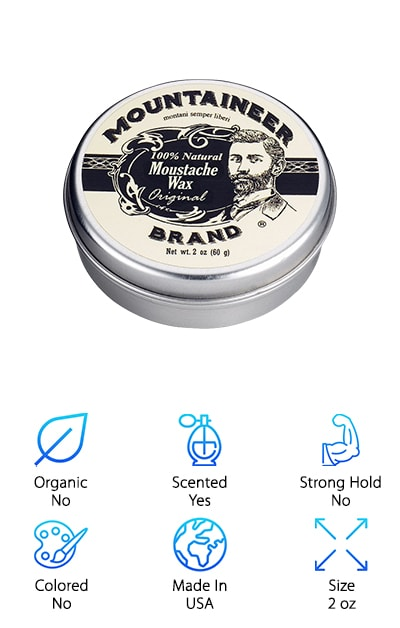 Mountaineer Brand Mustache Wax